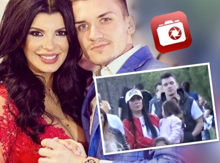 VIDEO PAPARAZZI / Problemele din căsnicie sunt istorie! Andreea Tonciu şi soţul ei, mai fericiţi ca oricând! Ce au făcut în văzul lumii