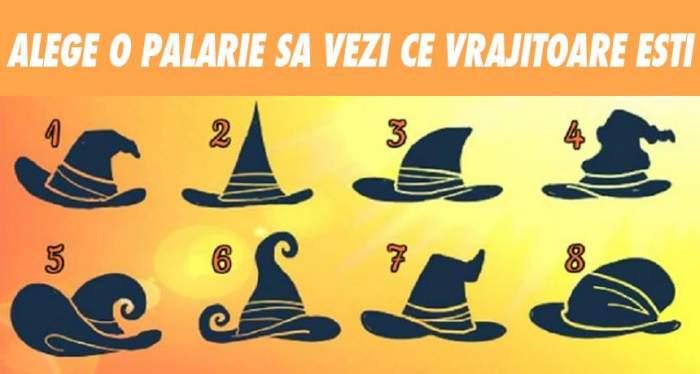 FOTO / Alege o pălărie și află ce vrăjitoare ești. Scoate la suprafaţă răutatea din tine
