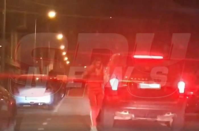 VIDEO EXCLUSIV! Imagini surprinse târziu în noapte! Ce a făcut Anamaria Prodan, după ce a murit Ionela Prodan