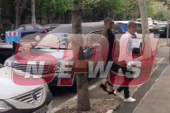 VIDEO / Anamaria Prodan, total schimbată înainte ca mama ei să fie transportată la capelă! A ajuns la pompe funebre pentru a ridica sicriul