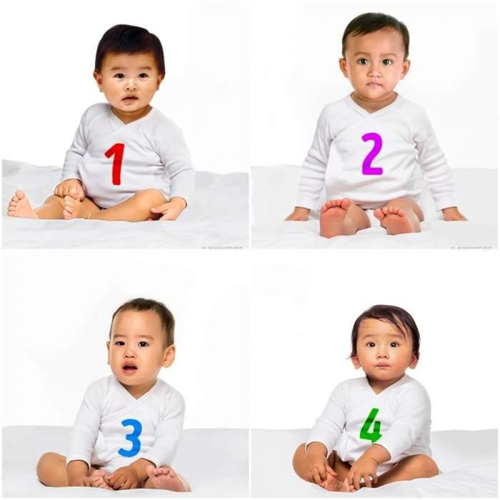 Dublu test! Alege care bebeluș crezi că este fetiță și află lucruri ascunse despre tine