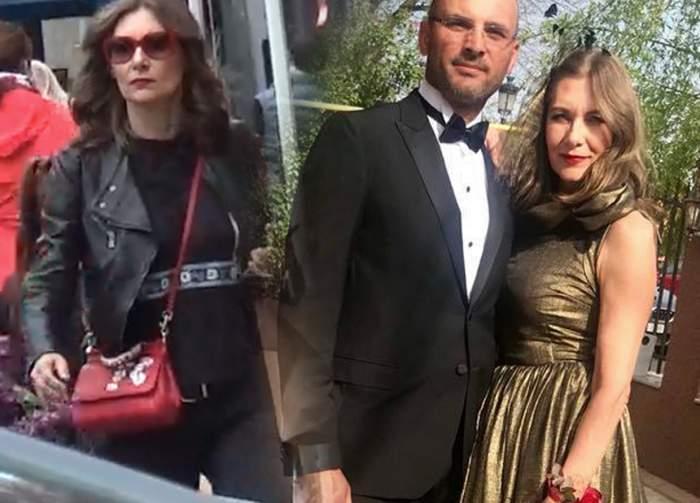 VIDEO PAPARAZZI / Are soţul tinerel, iar ea se vrea top-model! Romaniţa Iovan, apariţie senzaţională în buricul târgului