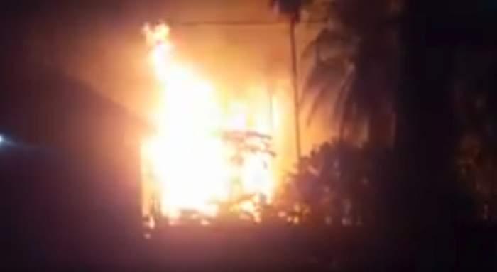 Incendiu de proporții în Indonezia! Cel puțin 10 oameni au murit după ce un puț ilegal de petrol a luat foc
