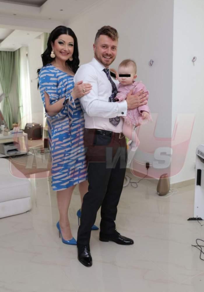 FOTO / Ce face Tavi Clonda în timp ce Gabriela Cristea își pregătește revenirea pe micul ecran