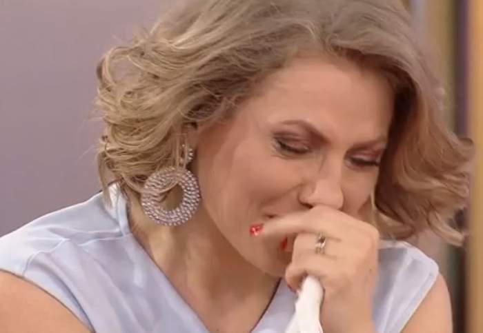 VIDEO / Mirela Vaida a izbucnit în lacrimi, în direct! Prezentatoarea a fost profund emoționată