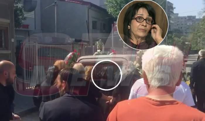 VIDEO & FOTO / Jale acasă la Nelu Ploieşteanu. Dureros ce s-a întâmplat când sicriul fiului a fost scos din curte