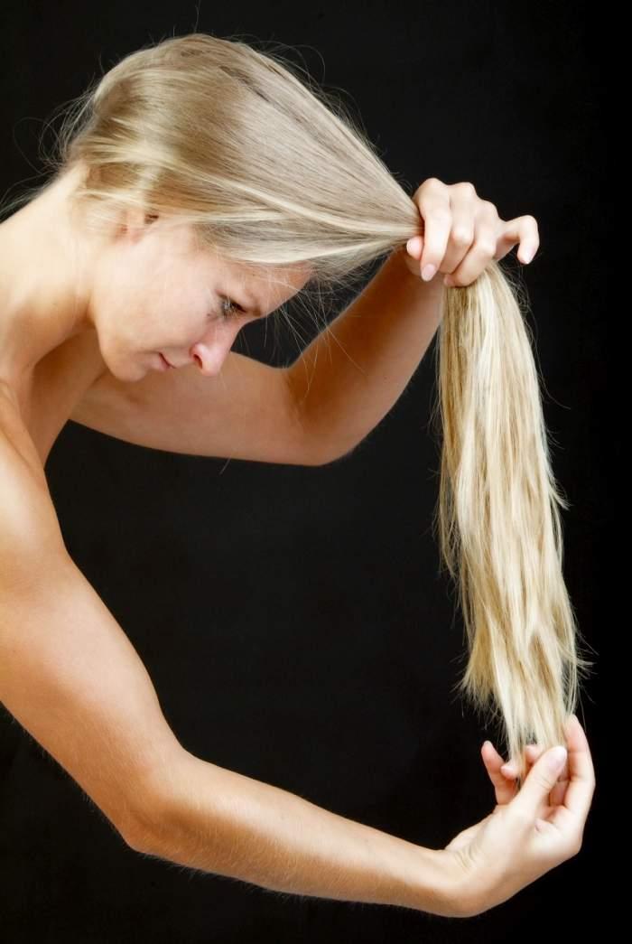 Tu știi cum repari părul deteriorat? 3 uleiuri pe care să le folosești pentru a nu apela la foarfecă