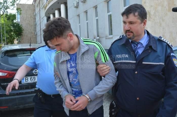 """Ionel Bogdan, """"criminalul din Botoşani"""", dus în faţa procurorilor! Ce se va întâmpla cu el"""