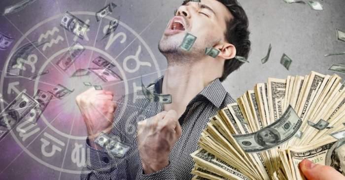 Zodiile care au un noroc fantastic la bani în luna aprilie!