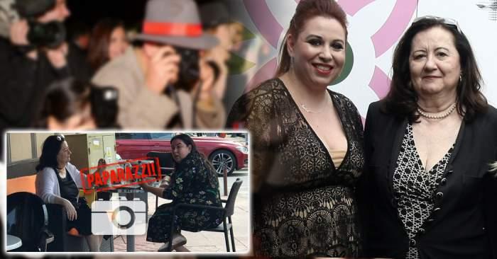 PAPARAZZI/ Oana şi Mioara, imagini rare! Cum arată doamna Roman după ce s-a retras de luni bune din viaţa publică