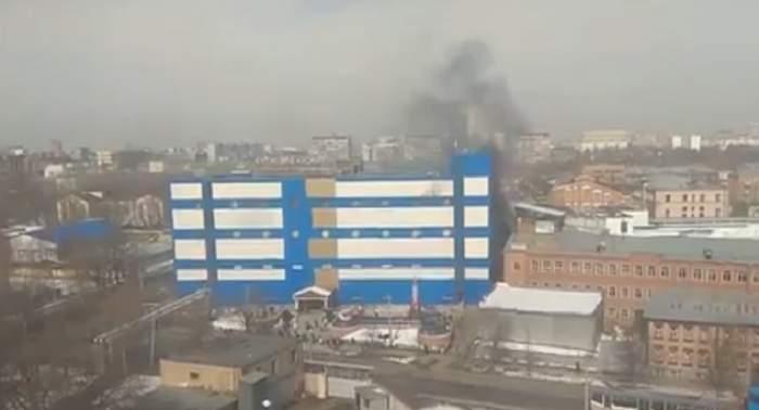 Un nou incendiu într-un mall din Rusia! Persoanele sunt evacuate de urgenţă! Sunt numeroase victime