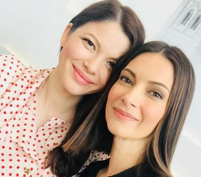 """Anca Lungu a părăsit definitiv România! Andreea Berecleanu a însoţit-o la aeroport: """"Sănu uiți de noi"""""""
