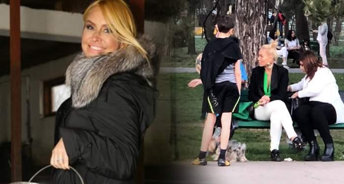"""FOTO/ Ce face Vica atunci când iese în parc şi o """"loveşte"""" foamea! Uită de fiţe şi îşi aduce aminte de unde a plecat"""