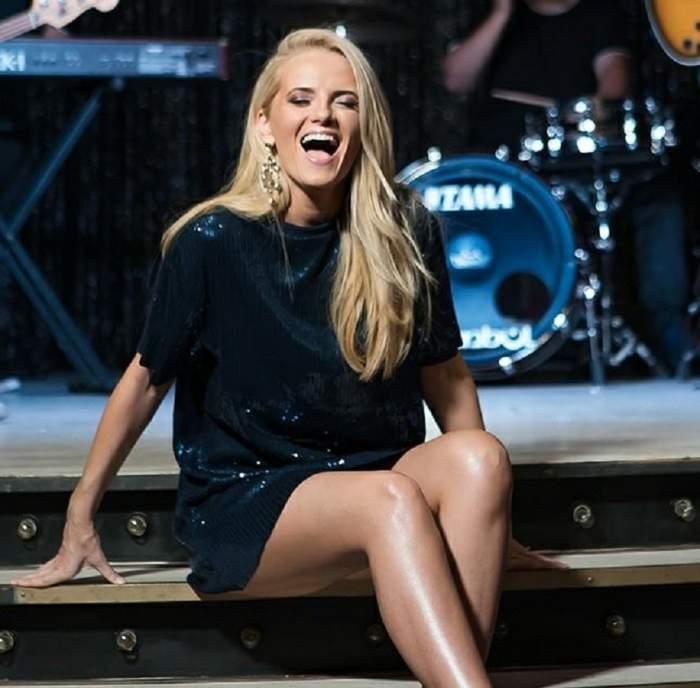 """Cristina, solista trupei """"The Humans"""", înaintea Semifinalei Eurovision 2018: """"Presa de aici vorbește că sunt cea mai bună voce"""""""