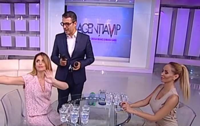 VIDEO / Interzis cardiacilor! Război cu apă între Bianca Sârbu şi Flore Salalidis