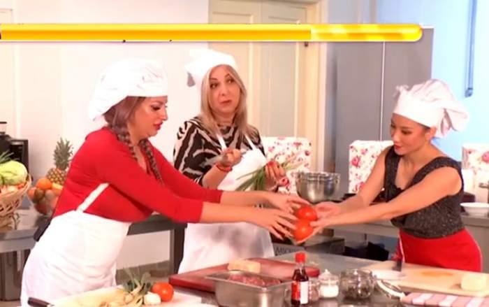 VIDEO / Carmen Şerban şi Sânziana Buruiană au făcut prăpăd în bucătărie. Imagini care te vor face să râzi cu gura până la urechi