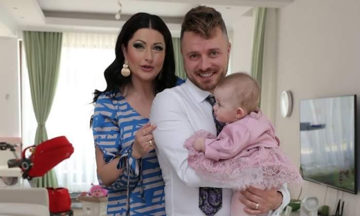 FOTO / Bucurie mare pentru Gabriela Cristea și Tavi Clonda. Premieră în viața micuței Victoria