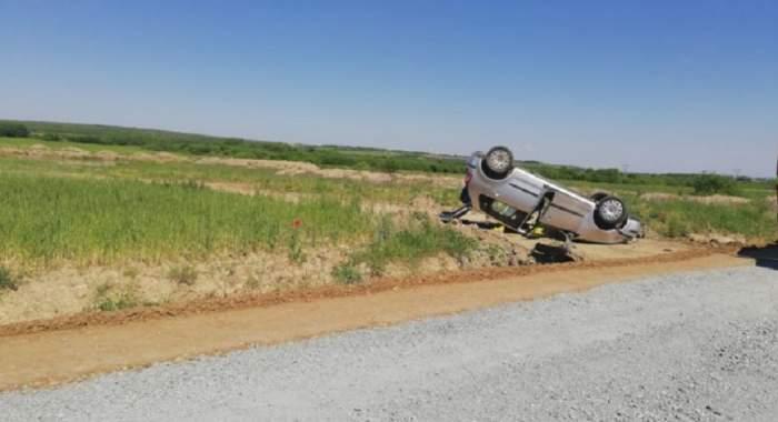FOTO /  Accident grav, produs de o șoferiță de 36 de ani. S-au înregistrat trei victime