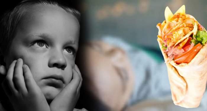 EXCLUSIV / Copil ucis de otrava din shaorma! Alertă de gradul zero în Capitală!