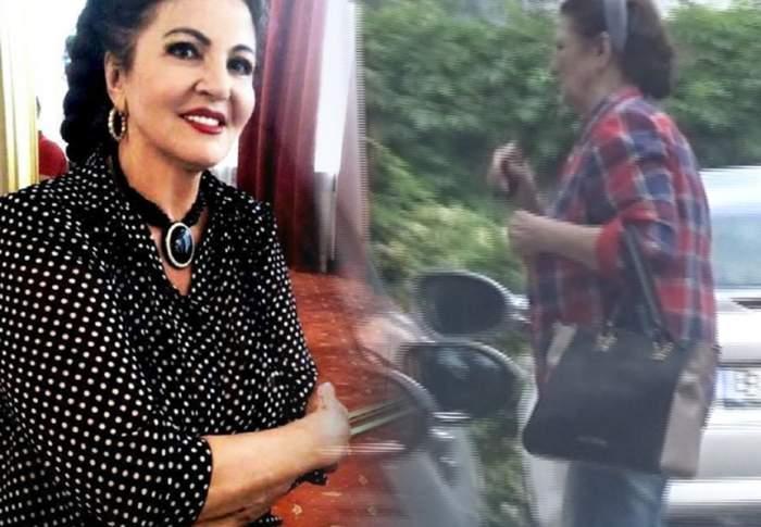 VIDEO PAPARAZZI! / Imagini îngrijorătoare cu Irina Loghin! Cântăreaţa se mişcă greu şi şchiopătează!