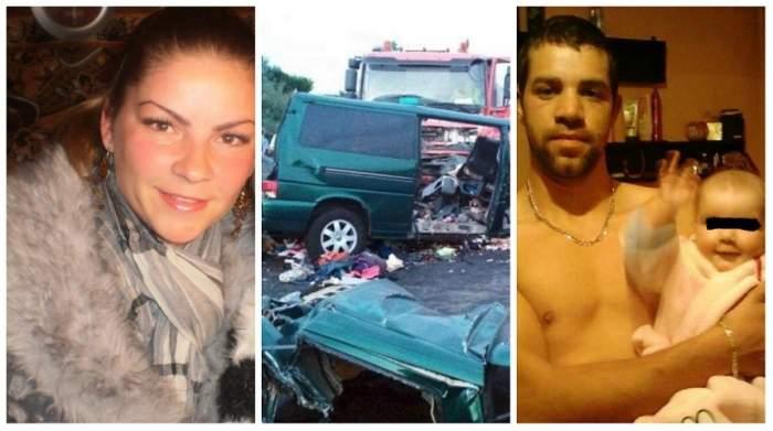 FOTO / O tânără mamă a pierit în accidentul din Ungaria. A lăsat în urmă doi copii orfani și a murit de mână cu soțul ei