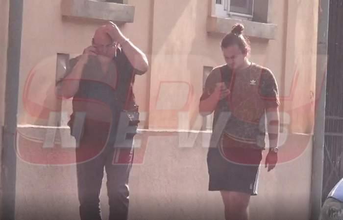 VIDEO PAPARAZZI / Bebe Cotimanis şi-a scos fiul în oraş! Unde l-a răsfăţat actorul pe chipeşul Matei