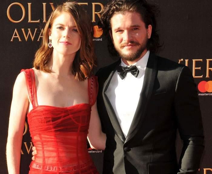 """Kit Harington și Rose Leslie din """"Urzeala tronurilor"""" au anunțat data și locația nunții"""