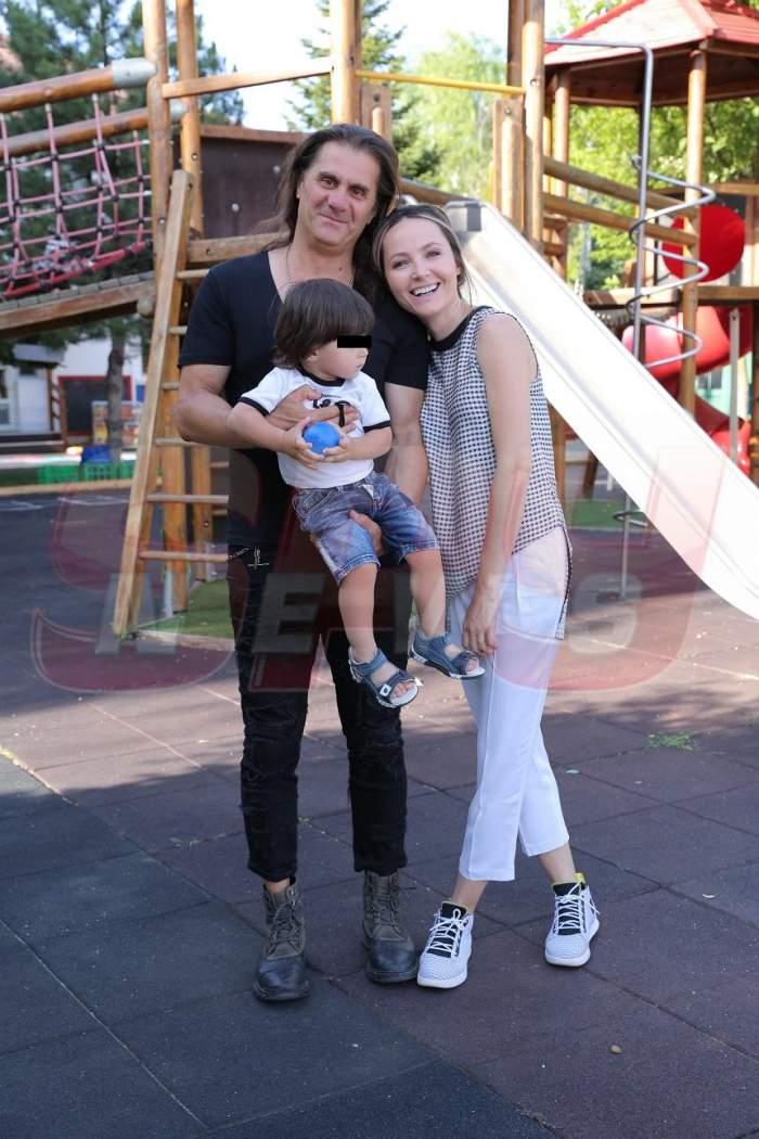 FOTO / Octavia Geamănu, alături de soț și fiu, într-un tablou de familie inedit. Vedeta radiază de fericire