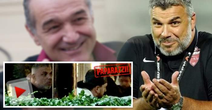 """VIDEO PAPARAZZI / """"Oli"""" dă, """"Oli"""" plăteşte, Luţu e tratat regeşte! Cosmin Olăroiu îşi risipeşte averea cu aghiotantul lui Gigi Becali"""