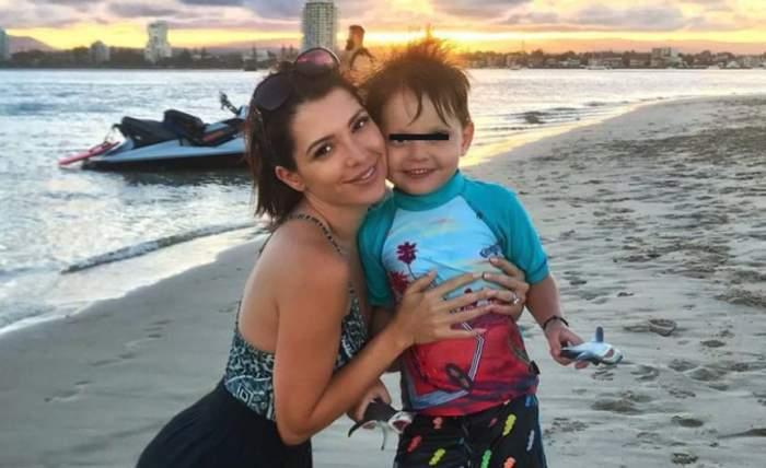 """Celia a trecut prin momente de groază, după ce fiul ei a fost muşcat de o căpuşă: """"Când copilul tău păţeşte ceva e groaznic"""""""