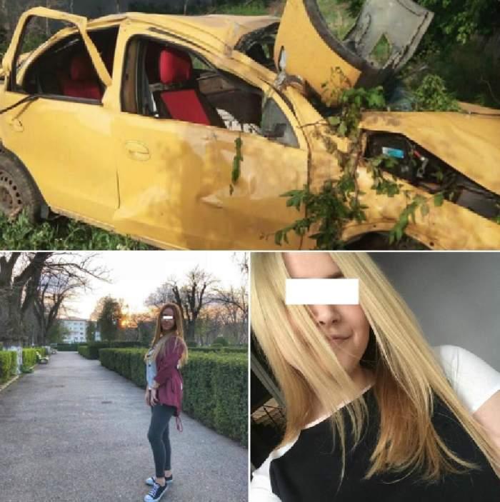 Curg sute de mesaje pentru cele trei fete din Zimnicea care au murit în accident rutier! Familia şi prietenii, în stare de şoc