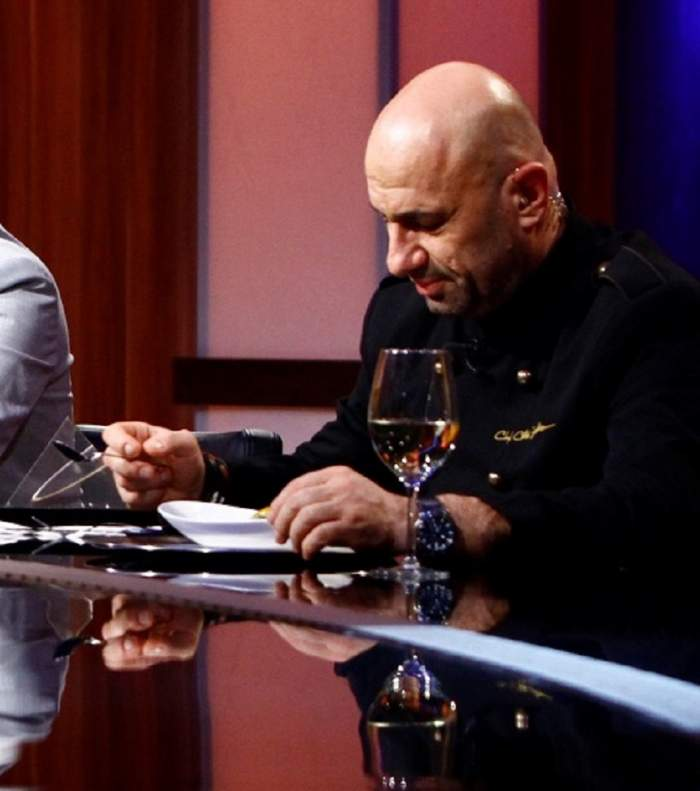 """FOTO /  Cătălin Scărlătescu, uimit de un concurent la """"Chefi la cuțite"""". A crezut că nu vede bine ce este în farfurie"""