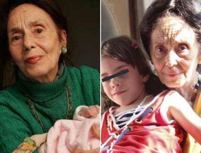 Adrianei Iliescu i s-a făcut rău, în ziua în care fiica ei a susținut Evaluarea Națională. Cea mai bătrână mamă din România, doborâtă de emoții