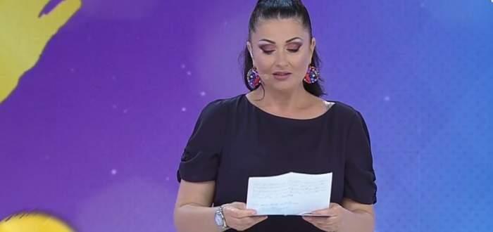 """VIDEO / Gabriela Cristea, impresionată până la lacrimi de scrisoarea unui fan: """"Mi s-a strâns sufletul de emoție!"""""""