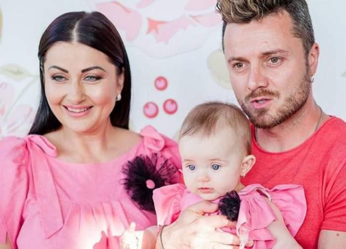 FOTO / Victoria a împlinit nouă luni. În ce fel absolut adorabil au decis Gabriela Cristea şi Tavi Clonda să îşi sărbătorească fiica