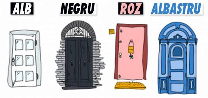 TEST: Priveşte imaginea, pune în ordinea preferată uşile şi află ce se ascunde în subconştientul tău