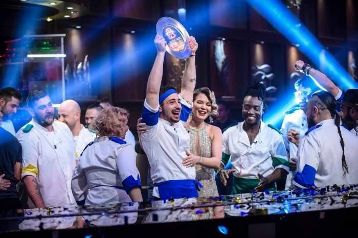 """UPDATE: Numele câștigătorului """"Chefi la cuțite""""! Bogdan Vandici a câştigat 30.000 de euro"""