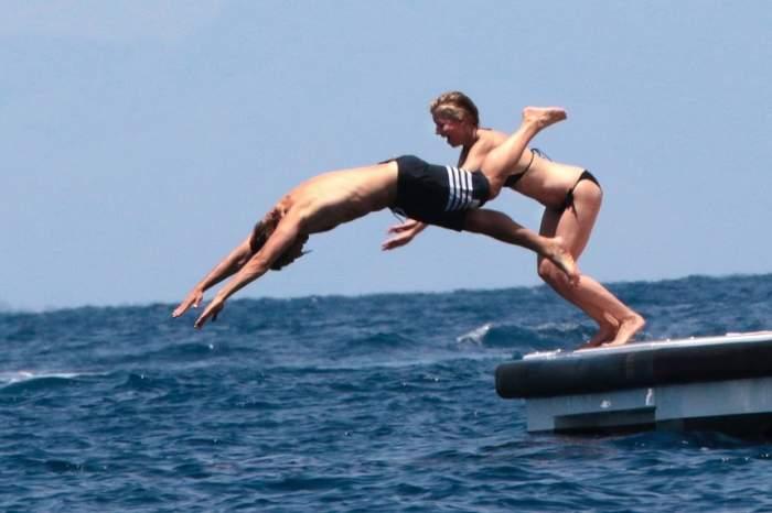 FOTO / Gwyneth Paltrow, surprinsă în ipostaze fierbinţi alături de iubitul ei