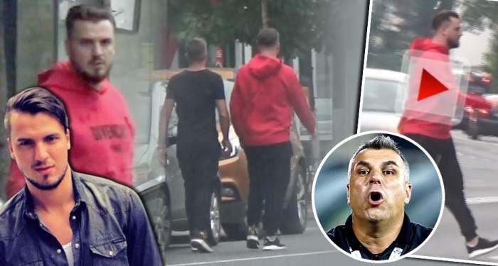 """VIDEO PAPARAZZI / Dani a comis-o rău de tot! L-am prins pe fiul lui Cosmin Olăroiu la pariuri! I-a dat """"Oli"""" vreun pont din China?"""