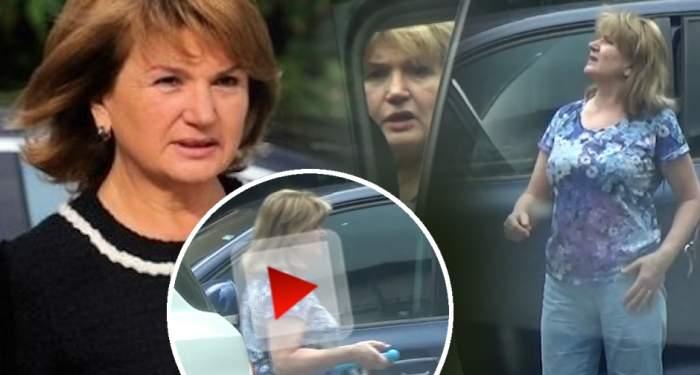 VIDEO PAPARAZZI /  Să tot ai o aşa mamă! Ce făcea Maria Băsescu în timp ce EBA năştea
