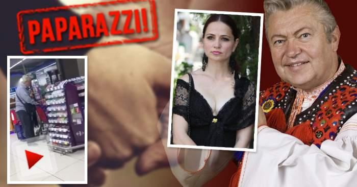 VIDEO EXCLUSIV / Gheorghe Turda şi iubita tânără, cuplul model! Cum au fost surprinşi cei doi la shopping
