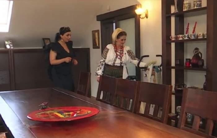 VIDEO / Margareta Clipa, vilă de lux! Cântăreaţa a plătit o avere pe sutele de costume populare pe care le are