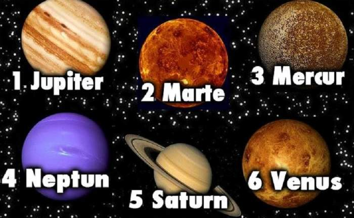 TEST: Alege o planetă şi află ce spune despre tine