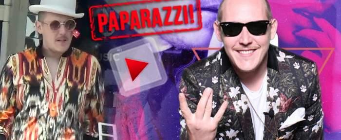 VIDEO PAPARAZZI / Asta le întrece pe toate! What's Up, apariţie excentrică în buricul târgului! Ce costumaţie a purtat artistul