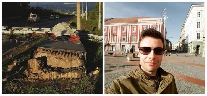 Noi detalii cutremurătoare în cazul tânărului strivit de poarta de intrare în Timișoara. Cine a fost arestat