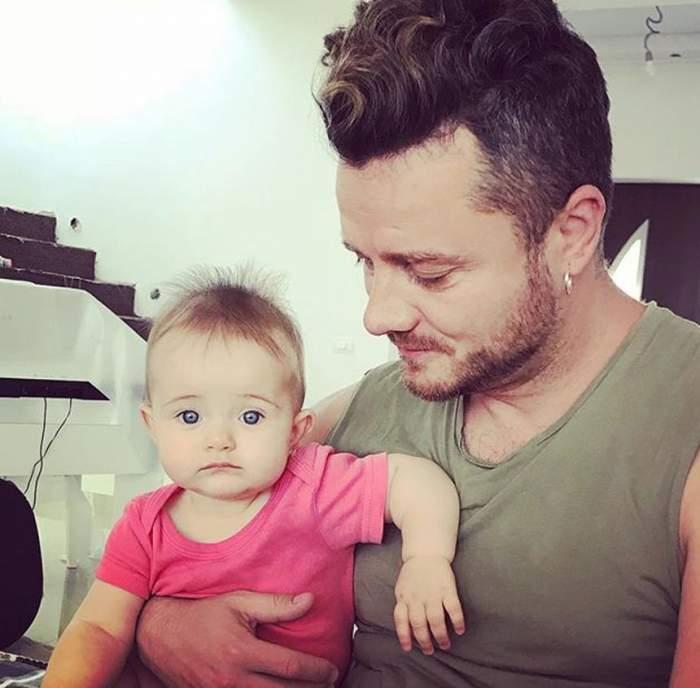 """Tavi Clonda, un tată model. I-a oferit fetiţei sale o experienţă de neuitat: """"Fericire deplină"""""""