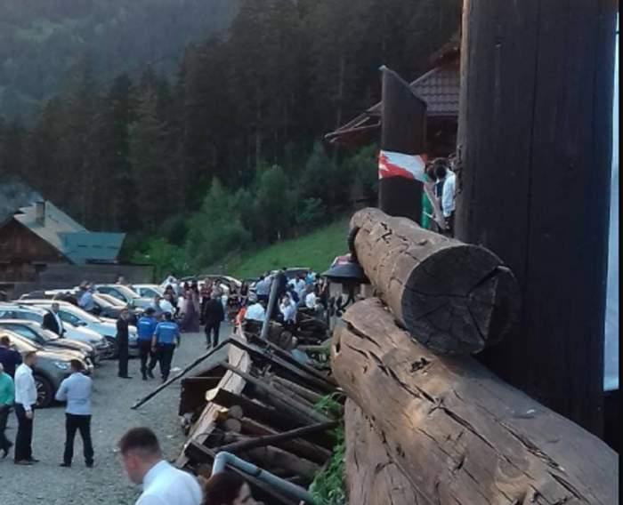 Tragedie la o nuntă în Neamț! Balustrada unei terase unde stăteau invitații s-a prăbușit