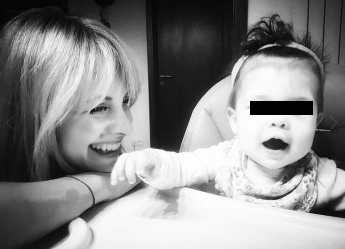"""Simona Gherghe şi-a înscris fiica la grădiniţă: """"Îmi dau seama cât a crescut puiul meu"""""""