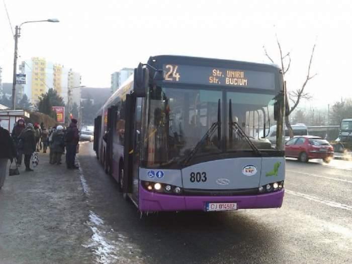 FOTO / Amendă cu motiv uluitor, pentru o femeie din Cluj-Napoca. S-a urcat în autobuz și a avut o surpriză neplăcută