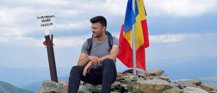Cine este turistul care a murit în Masivul Făgăraș. Gabi avea 28 de ani și plecase într-o excursie cu studenții săi